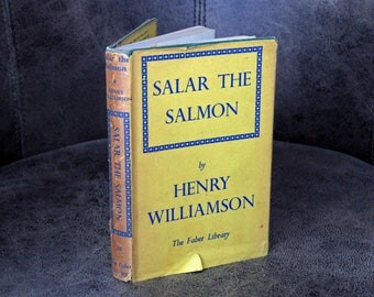 SALAR THE SALMON by Henry Williamson - 1941 edition