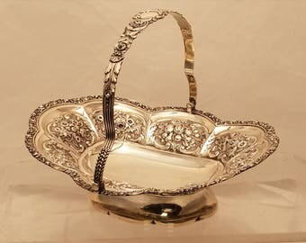 Sterling Bride Basket by Henry Herbert 1823