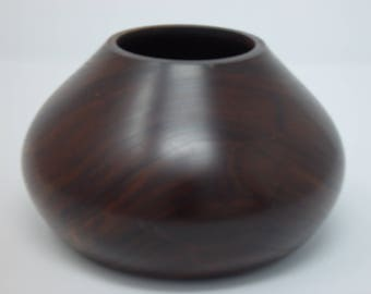 Walnut wood Vase || Wood turned vase || wood vase || Claro Walnut ||@155