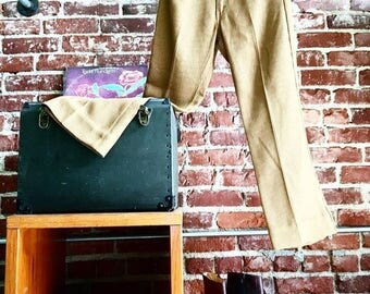 """Sold in Store. Do not buy. Vintage Sixties 1960s Men's Levis Ribbed Pants. 32"""" waist by 28"""" inseam Mod Very Cool"""