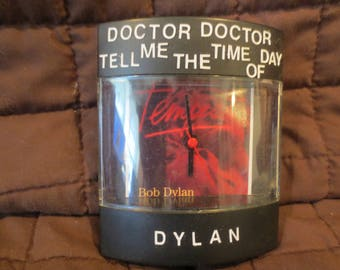 "Bob Dylan Dyl-Time Clock for ""Tempest"" albumn"