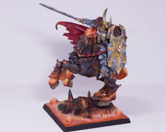 Painted Miniature Chaos Lord Archaon,Fantasy.Warhammer METAL OOP Pro Painted