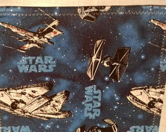 Handmade Burp Cloths - Star Wars - Star Wars Bay - Nerd Baby - Geek Baby