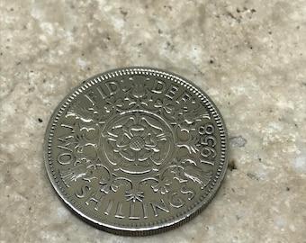 1958 60th birthday Florin coin