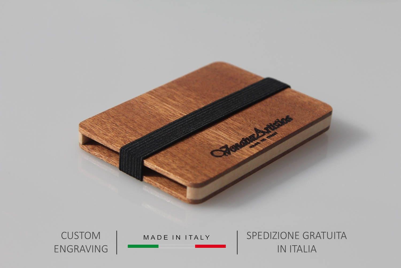 Wooden wallet wooden card holder business card holder zoom magicingreecefo Images