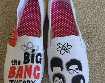 The Big Bang Theory Handmade Shoes