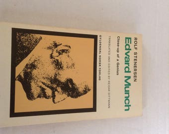 Edward Munch. 1972 Edition
