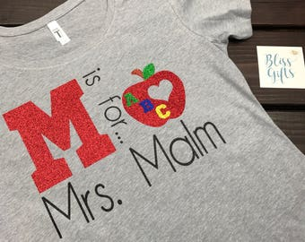 Funny Teacher Shirt | Custom Teacher Shirt | Gifts For Teacher Shirt | Teacher Tee | Teacher Gift | Teacher Present | Shirts for Teaching