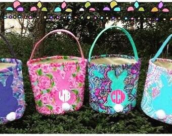 Easter Basket, Easter Bucket, Easter Tote