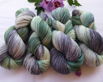 Hand-dyed Merino Wool for 100 g