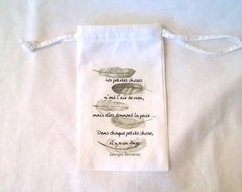 Inspirational Angels fabric bag