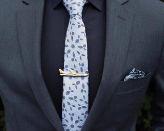 Tie Clip Airplane for Men Suits Men's Wedding  Metal Necktie Tie Bar,Retro Tie Clip, Gift for Boyfriend Gift for Dad Gift for Friend ForHim