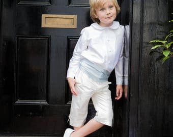 Silk Long George Pageboy Shorts