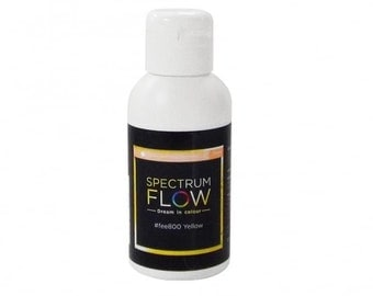 Yellow Matt Spectrum Flow Airbrush Paint 75 ml