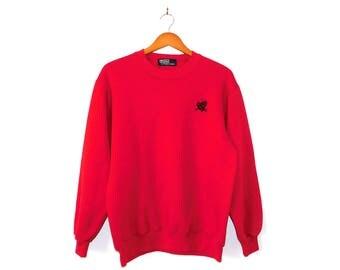 Polo Ralph Lauren Red Sweatshirt