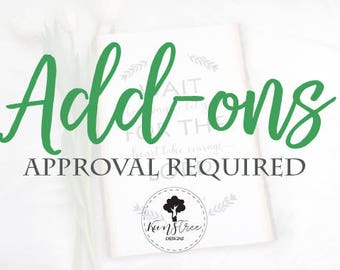 Add-ons (Approval Required)