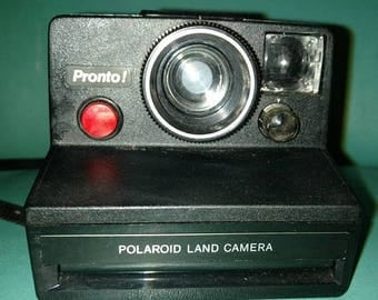 On Sale 1970's Polaroid pronto instant camera