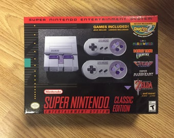 Super Nintend Classic Edition SNES mini Modded with 253 games