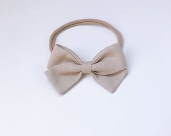 Charley - classic fawn signature bow heaband