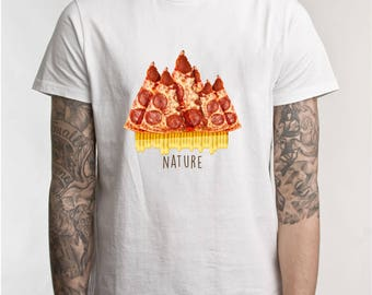 Food Is Nature - Original T-shirt Design
