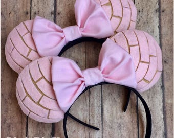 Pink Conchas Inspired Disney Ears