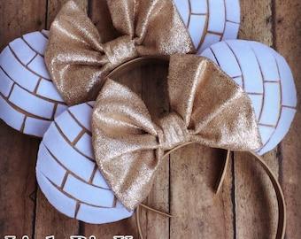 White Conchas Inspired Disney Ears