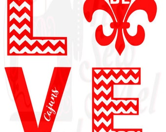 love UL svg dxf and png files