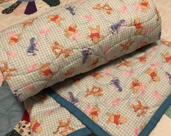 Winnie the Pooh Quilted Blanket