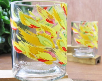 rocks glasses vodka tumbler set absolut mango vodka glass tumblers drinkers gift 21st birthday gifts birthday present xmas present idea gift