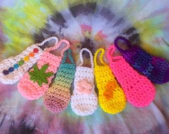 Crochet Pipe Pouches