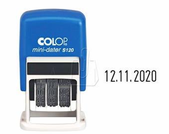 Colop Mini-Dater S120 Self Inking Date Stamper