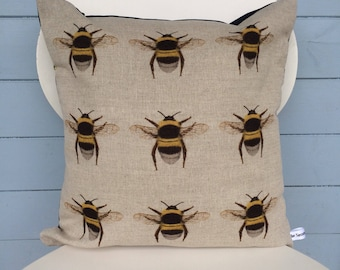 Bumble Bee Cushion, Bumble bee Pillow, Bee/Nature gift for mum