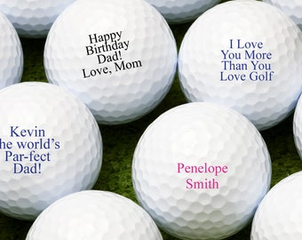 Custom Personalized Golf Balls - Bulk Price Available (MIC-JM9356407)