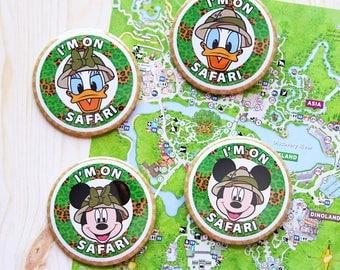Safari Animal Kingdom Inspired Park Button