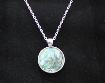 Art Pendant Necklace