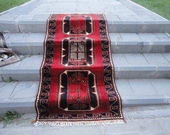 Vintage rug,Area rug,boho rug,vivid color rug,81 x 39 inches,floor rug,living room rug,turkish oushak rug,hand made Turkish rug,peerless !!
