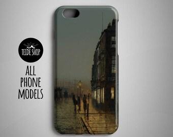 John Atkinson Grimshaw iPhone X Case Samsung Galaxy S8 Case iPhone 8 Plus Case iPhone 7 Case Samsung Galaxy S8 Plus Huawei P10 Case