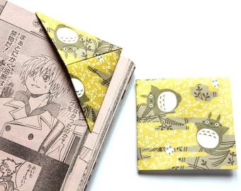 "Origami bookmark ""My Neighbor Totoro"", Hayao Miyazaki, Studio Ghibli"