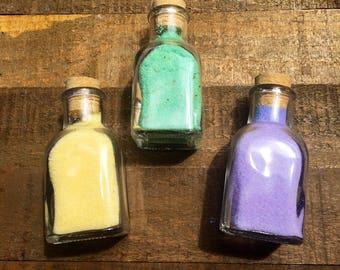 Mediterranean Dead Sea Salt Detox Soak, Cork Jar or zip close pouch, bath soak, jojoba oil soak
