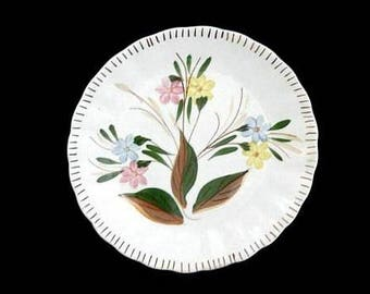 "Blue Ridge Plate MEMPHIS 7.25"" Salad Dessert Sandwich Southern Potteries COLONIAL Hand Painted Hard to Find (B22) 6269"