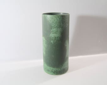 Tall, cylindrical vase by Otto Keramik, West German Pottery, WGP, Mid century