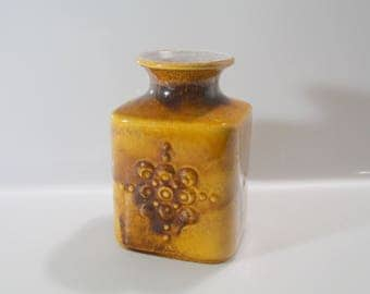 Nice Carstens 7014-15 West German Pottery Mid Century, Fat Lava