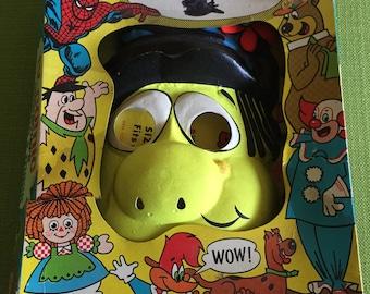Vintage 1976 Ben Cooper Broom Hilda Child Halloween Costume and Mask with Original Box Size Medium 8-10