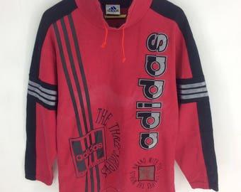 Rare Design Vintage Adidas Spell out Big Logo Sweatshirt