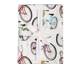 60% OFF Bicycles Wrapping Paper | hipster | gifts for him | gifts for her | bicycle | vintage | gift wrap | birthday | bike