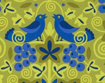 "Jane Sassaman - ""Scandia"" - Vinyard- Purple    - FreeSpirit  Cotton Fabric"