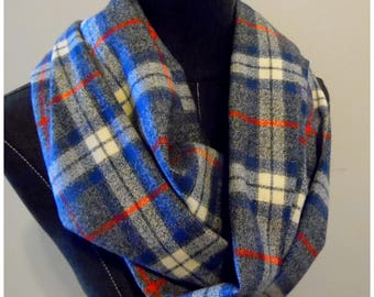 FALL SCARVES.Flannel.Plaid Scarf.Infinity Scarves.Winter.GIft For Her.Soft Plaids.Soft Flannels.