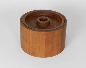 Dansk Teak Ice Bucket, Danish Modern, 1960s