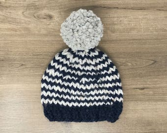 Toddler winter knit hat