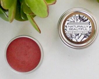 Natural Lip Tint - Organic - Organic Lip Balm -Lip Tint - Natural Skincare - Raw Organic Cocoa Butter - Bridesmaid - Gift - Lip Balm